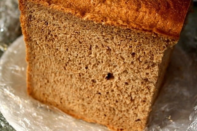 Simple Whole Wheat Bread Machine Recipe