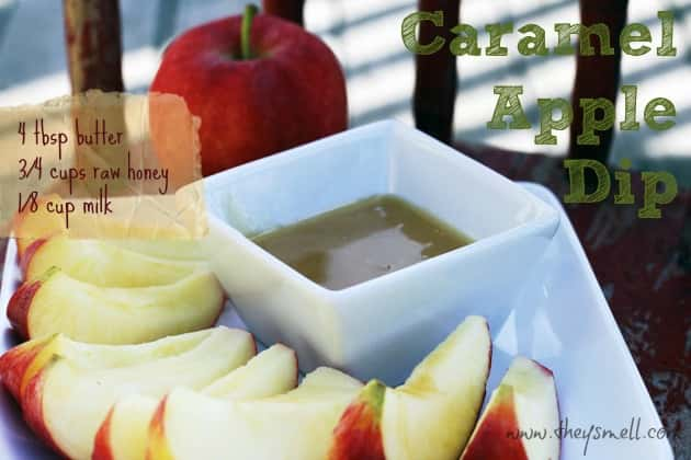 Clean Eating Caramel Apple Dip