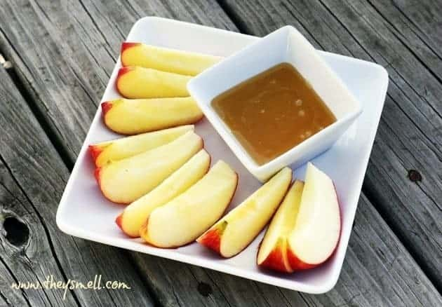 Clean Eating 'Caramel' Apple Dip