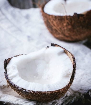 Ingredients to avoid in bath & body products if you have or suspect you have a contact coconut allergy.