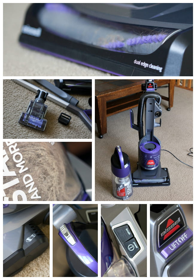 BISSELL PowerGlide Deluxe Pet Vacuum with Lift-Off Technology