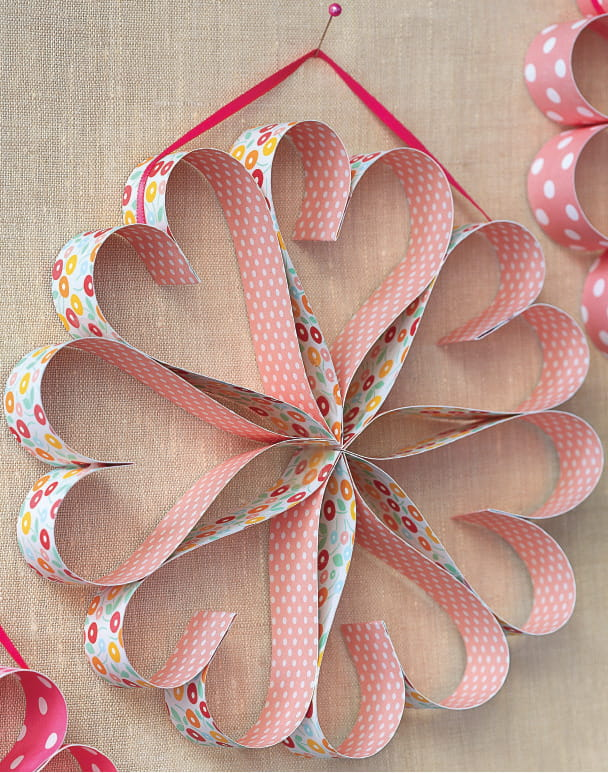 Homemade Valentine's Card and Valentine's Day Crafts