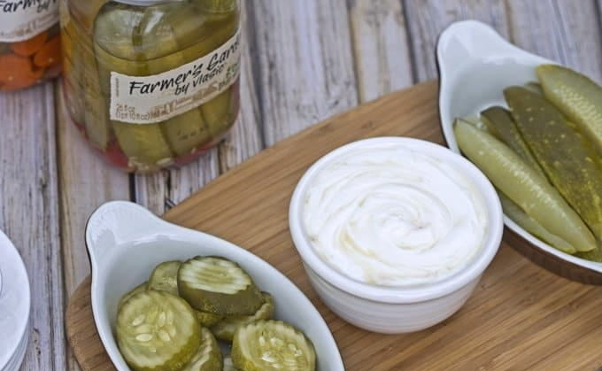 Russian Dill Pickle Dip