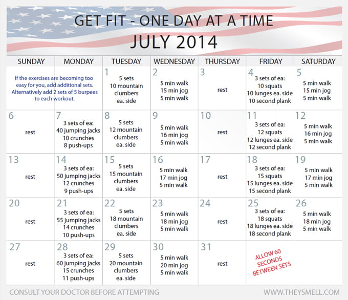 Daily Beginner Workout Plan