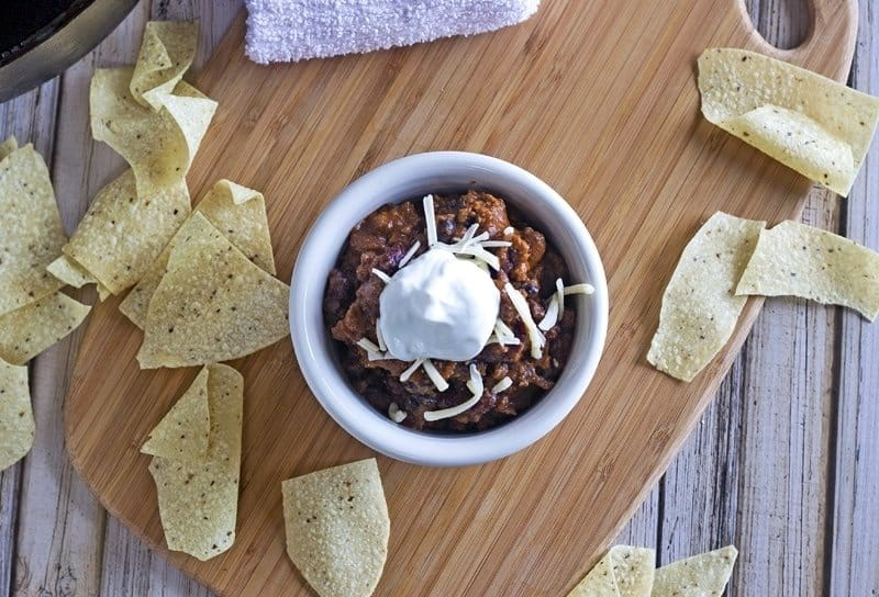 Best Chili Ever - this super simple recipe has just the right balance of flavors for the PERFECT chili!