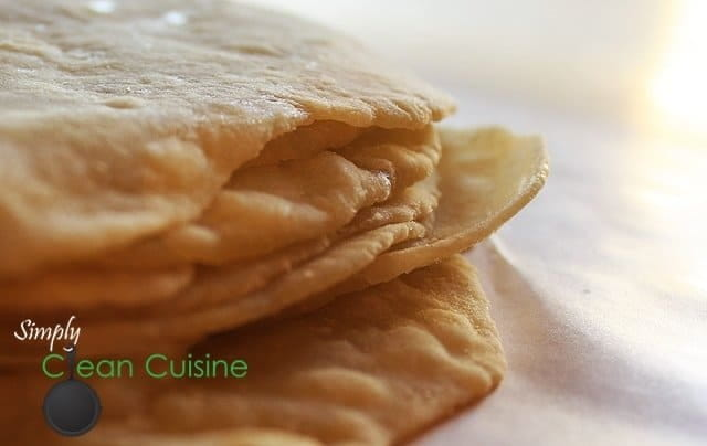 Homemade Flour Tortillas are easy to make and don't have any of the nasty chemicals found in store-bought tortillas. Plus, they taste better. Much better.