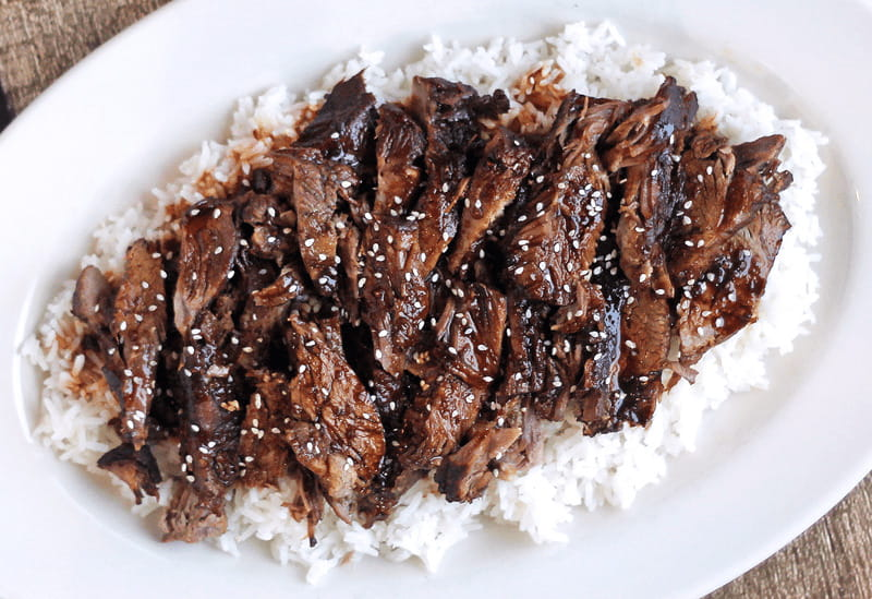 Slow Cooker Sticky Asian Lamb Recipe