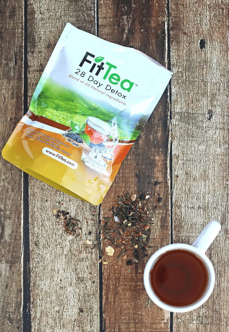 Fit Tea Detox - all natural ingredients boost metabolism, aids in digestion and gives you more energy.