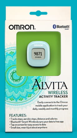 Walk Out On Wednesday with Omron Fitness & the New Alvita Wireless Fitness Tracker