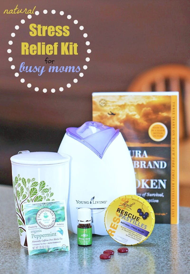 Natural Stress Relief Kit for Busy Moms