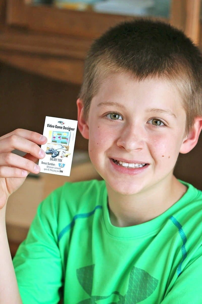 The Game of Life Game My Dream Job has new career cards inspired by kids. Enjoy family game night and inspire their future plans with Hasbro.