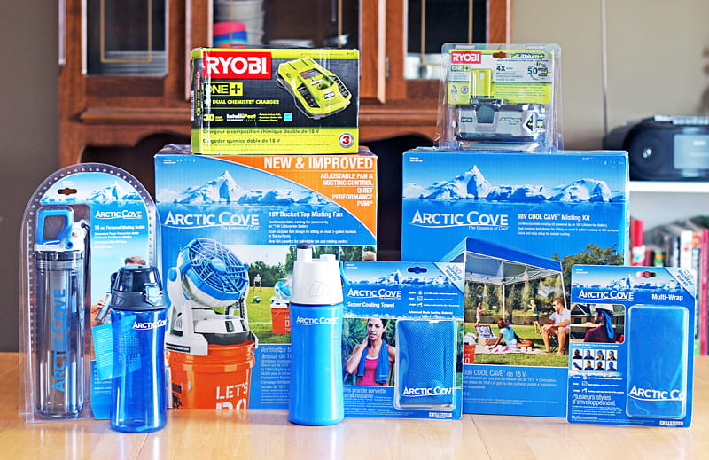 Keep Dad Cool while he Fixes and Builds with Arctic Cove