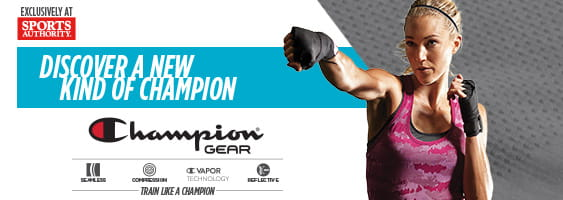 Champion GEAR at Sports Authority