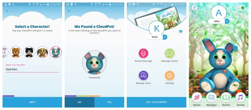 CloudPets Bunny - Keep in Touch With a Hug
