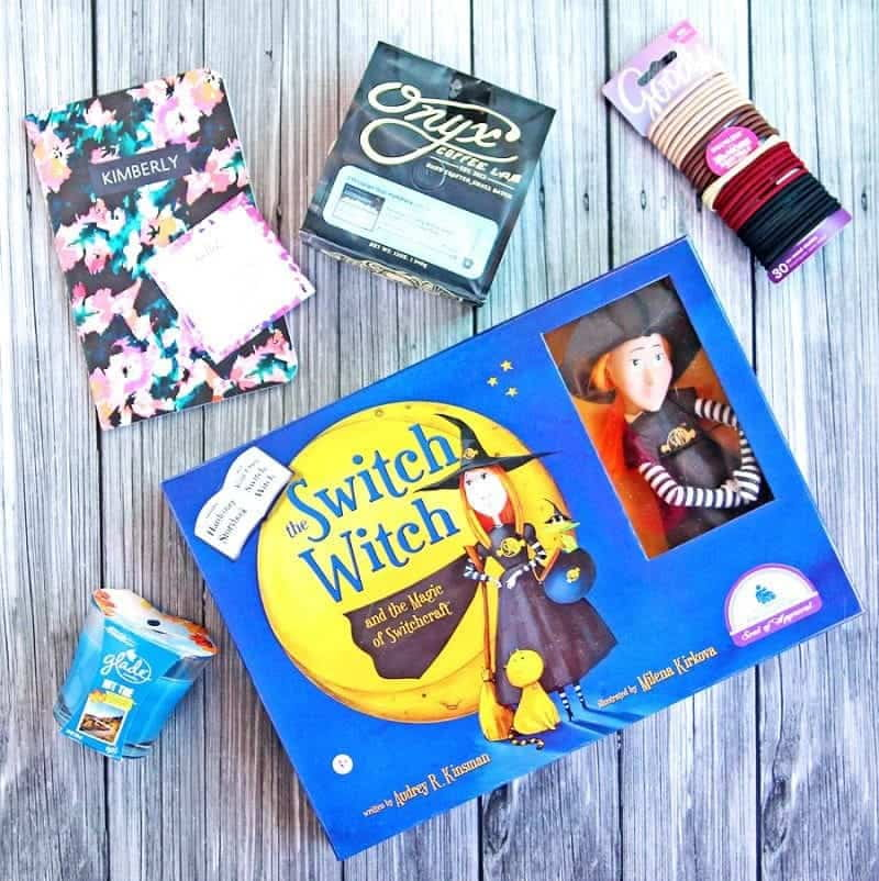 #AcornFallBox Cool Fall Finds with Acorn Box. Discover Switch Witches, Goody, Glade, May Designs and Onyx Coffee.