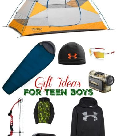Holiday Gift Ideas for Teen Boys from Gander Mountain