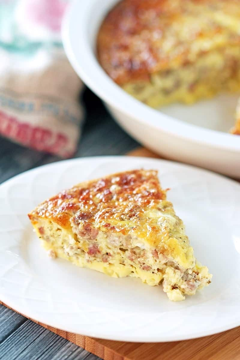 Low Carb Breakfast Casserole – Low Carb Sausage and Egg