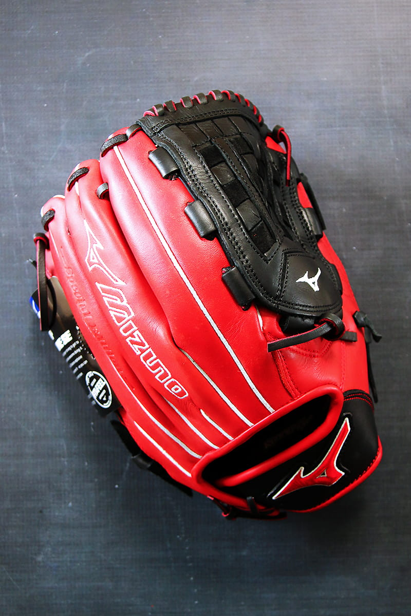Baseball Glove Steaming with Mizuno
