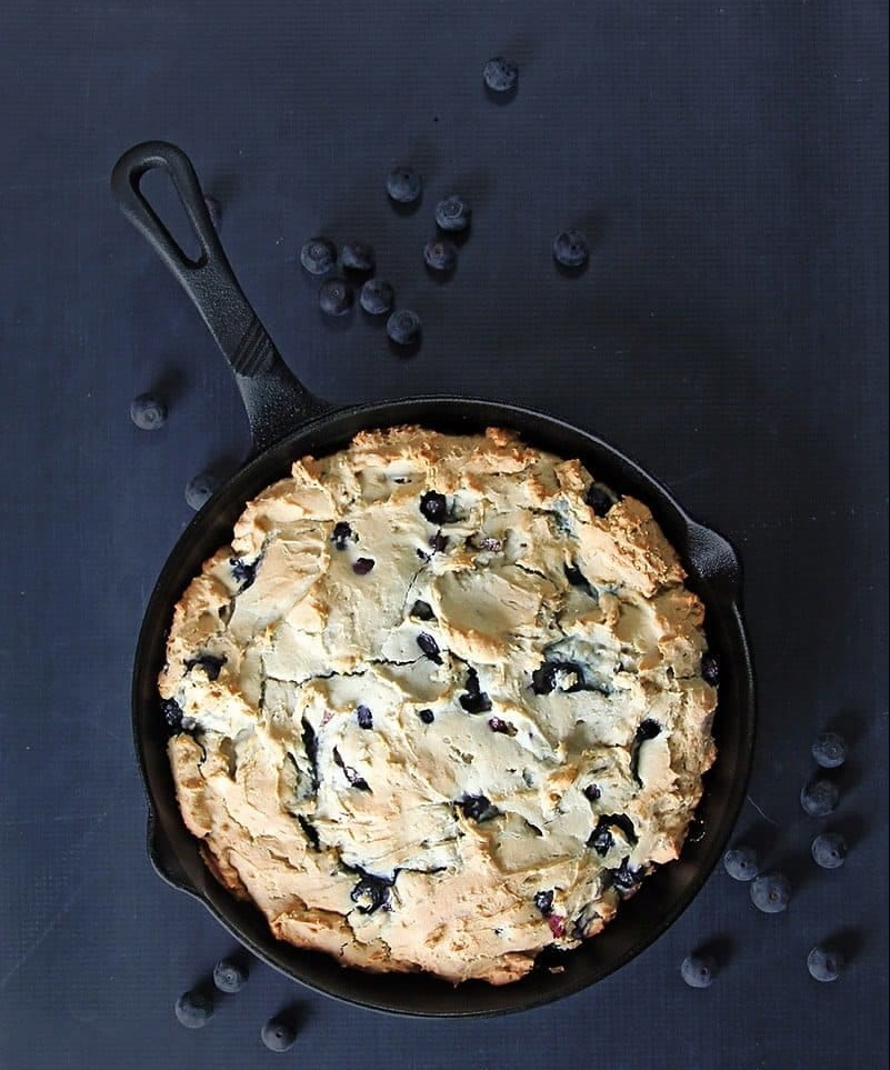 Blueberry Skillet Coffee Cake