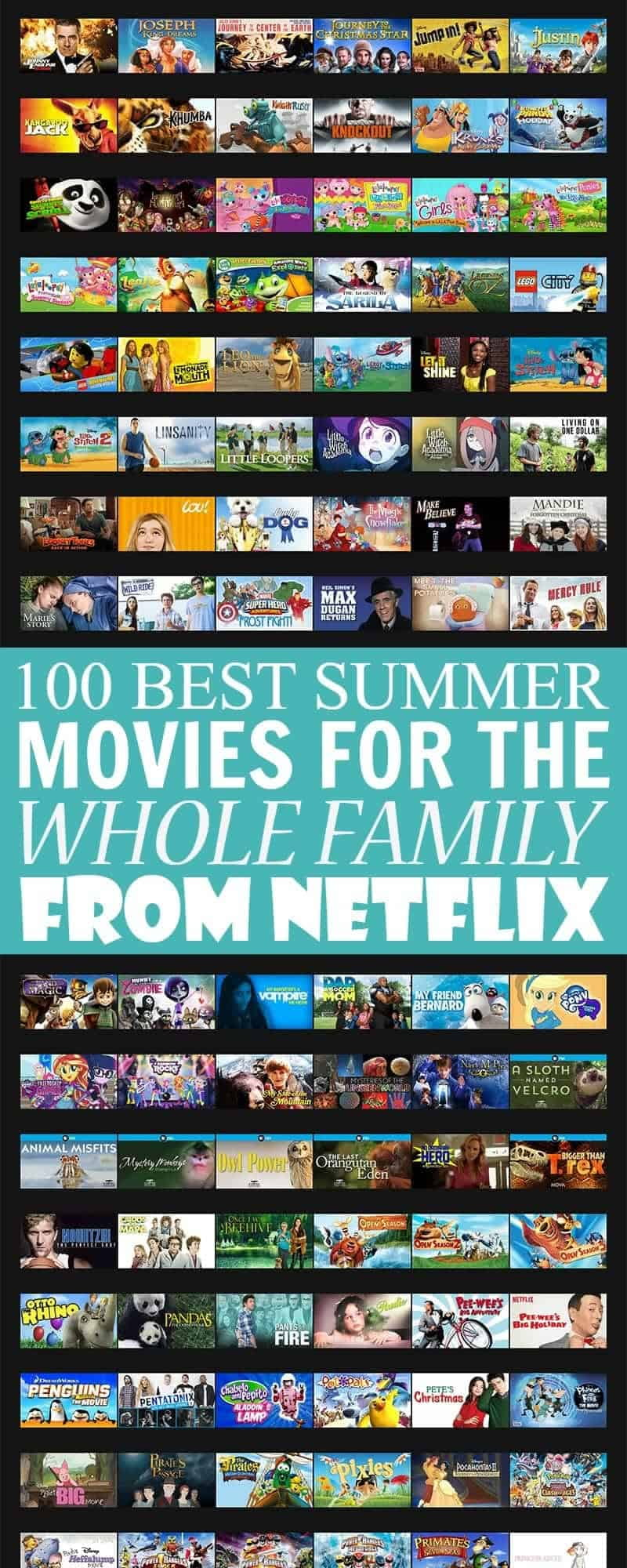 100 Best Summer Movies for the Whole Family on Netflix
