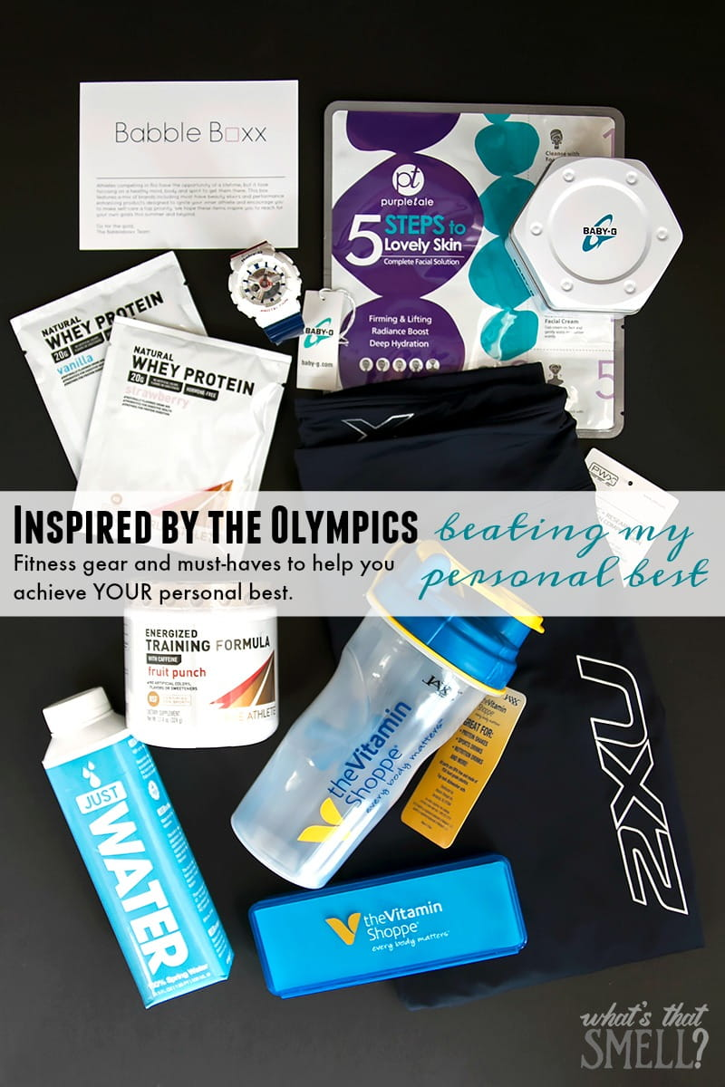 Inspired By The Olympics - Beating My Personal Best: fitness gear and must-haves to help you achieve YOUR personal best.