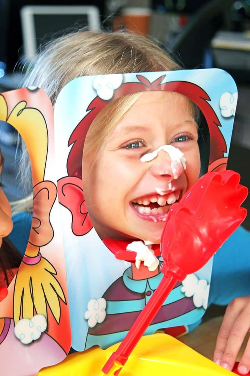 Hilarious Family Fun with Pie Face Showdown - bring friends and family together with Hasbro's brand new laugh-out-loud game Pie Face Showdown.