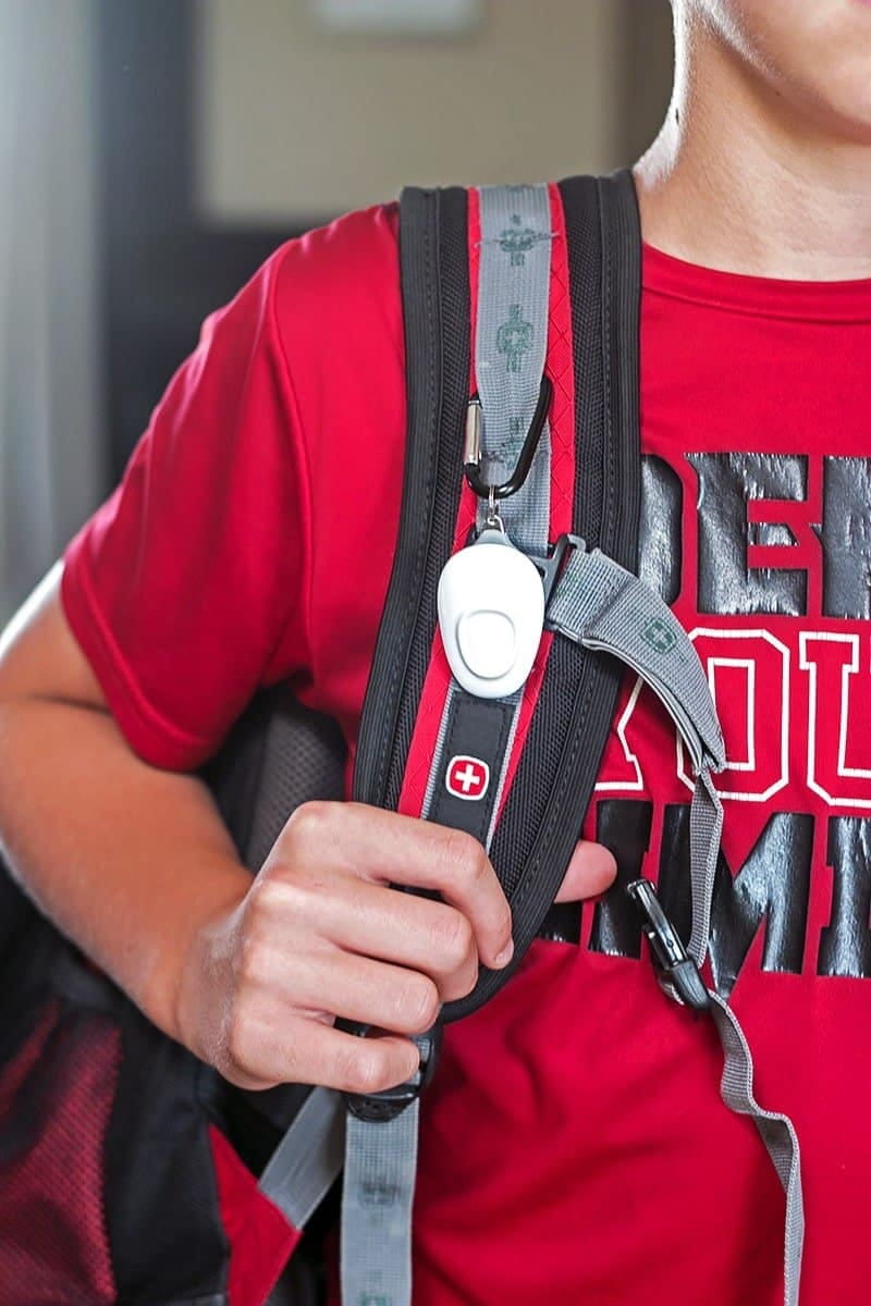 Take the Fear Out of Sending Your Child off to College - the Wearsafe Tag is a discrete personal safety device that communicates with your cell phone when pressed and sends an alert signal and live audio recording to your emergency contacts when you are need of help.
