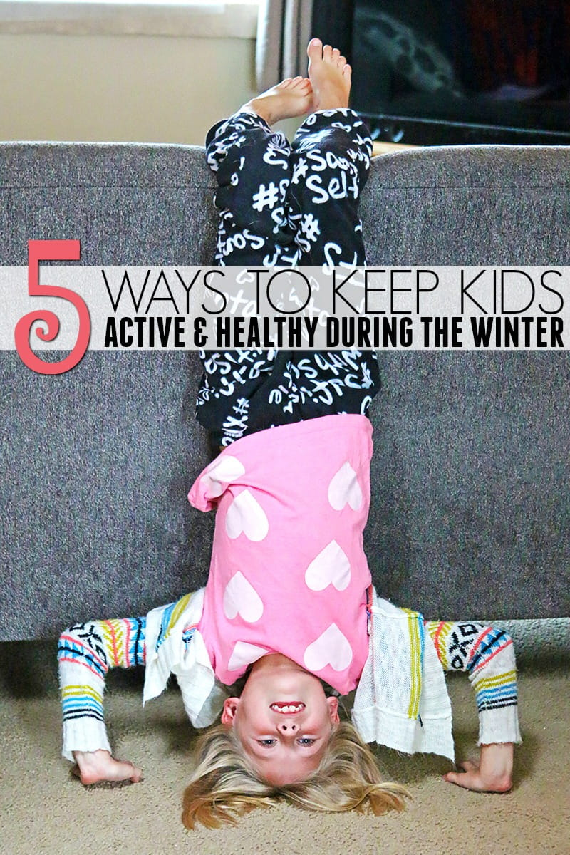 5 Ways To Keep Kids Active and Healthy During the Winter - Winter comes with all sort of guilty pleasures and certain challenges that make it difficult to keep kids healthy and active. These tips will help you give them an edge this winter.