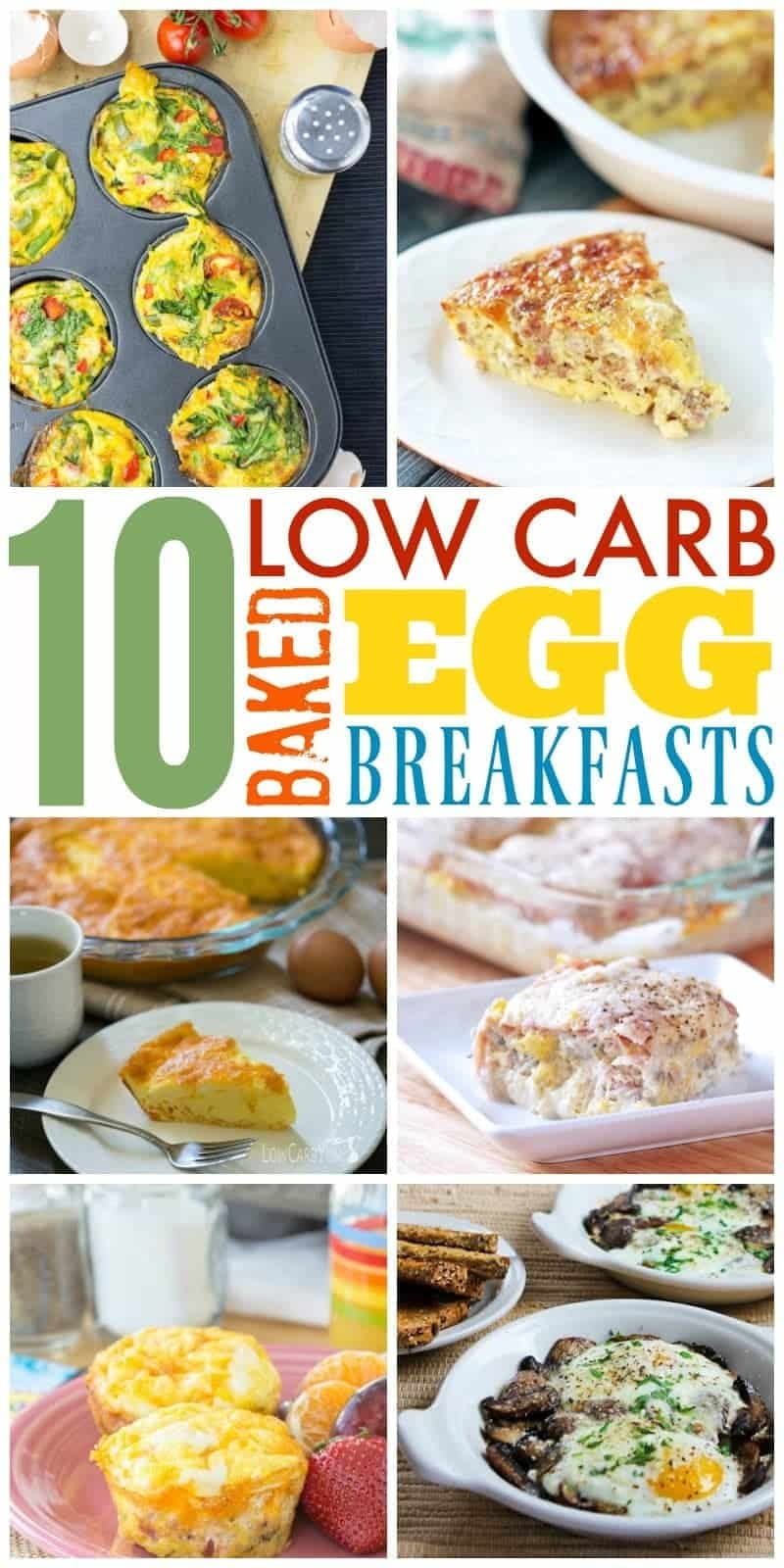 Baked Eggs – 10 Low Carb Breakfast Ideas
