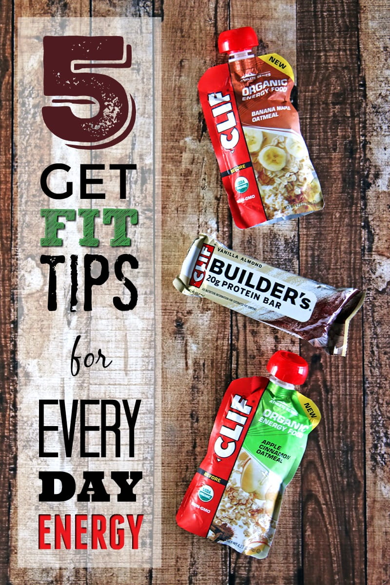 5 Get Fit Tips for Every Day Energy - It's not always easy to get your workouts in every day. These tips will help you find ways to fit exercise into your daily routine and have the energy to enjoy them.