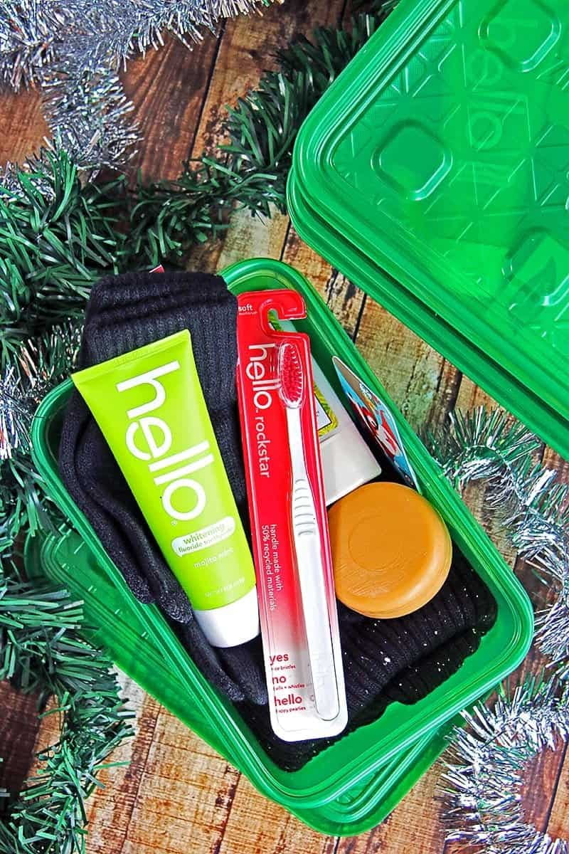 Spread the Friendly with hello products and Help Others During the Holidays. Make a positive impact in the world with easy to assemble personal care kits for the homeless, deployed military, nursing homes and others.