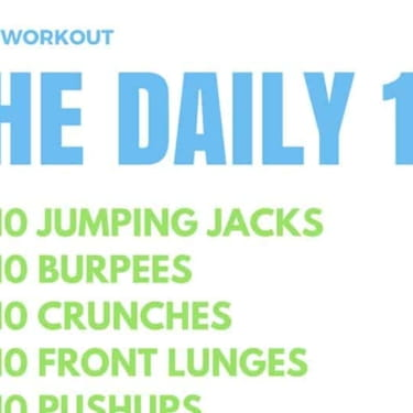 Daily Workout Routine Without Equipment – The Daily 10