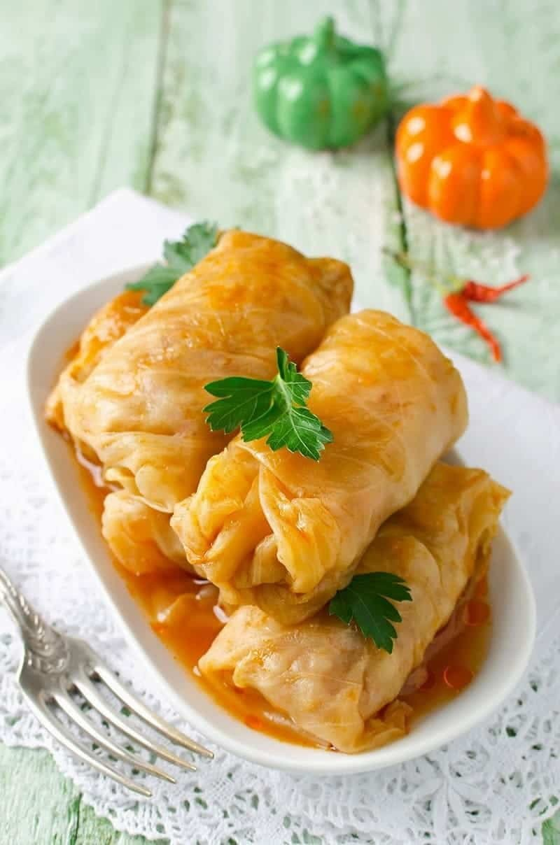 Slow Cooker Cabbage Rolls - 20 delicious slow cooker cabbage roll recipes. Versatile, delicious recipes with vegetarian options, low-carb options and more.