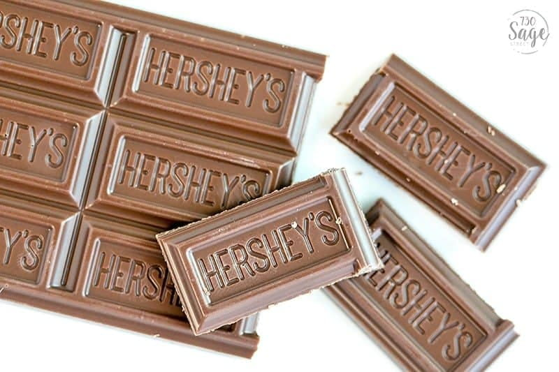 Hershey Simple Milk Chocolate is made without artificial flavors, preservatives or sweeteners and uses farm fresh milk.