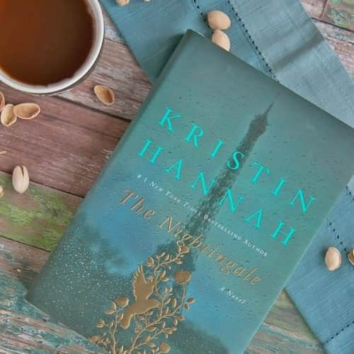 The Nightingale a Novel by Kristin Hannah is a captivating story of two sisters & their struggles during the Nazi occupation of France during World War II.