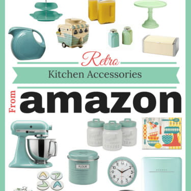 Retro Kitchen Accessories from Amazon