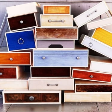 DIY Recycled Furniture Projects Using Drawers