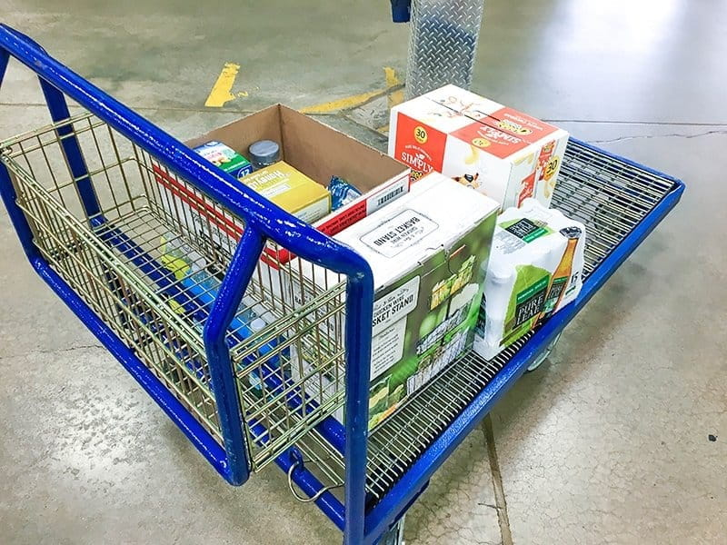 With Sam's Club Pickup I don't have to sacrifice time with my kid or healthy food choices to get my shopping done. They do my shopping for me!