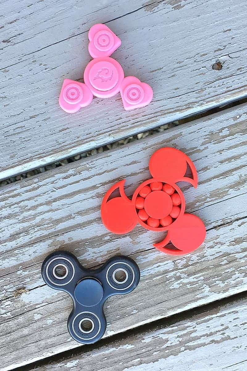 Fidget spinners are all the rage, but they can be expensive! This fun list has 12 DIY projects to show you how to make a fidget spinner at home.
