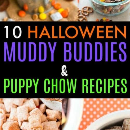 Any of these 10 Halloween muddy buddies and puppy chow recipes would make the perfect treat for parties, classrooms or just as a snack.