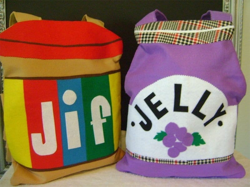 peanut butter & jelly creative Halloween Costume for kids