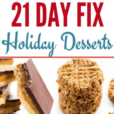 21 Day Fix Holiday Desserts – Delicious & Guilt-Free