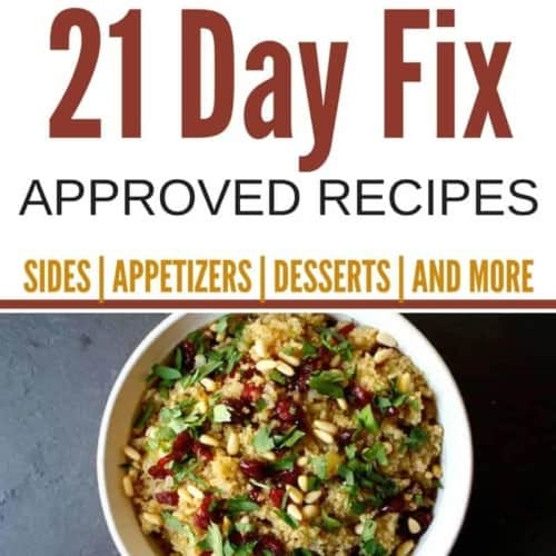 Survive holiday meals guilt-free with these 21 Day Fix Thanksgiving recipes with delicious options from appetizers to desserts & everything in between.