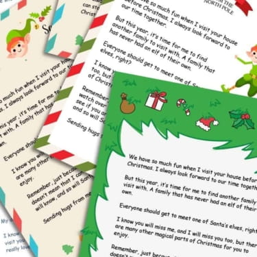 Elf on the Shelf Goodbye Letter – Free Printable