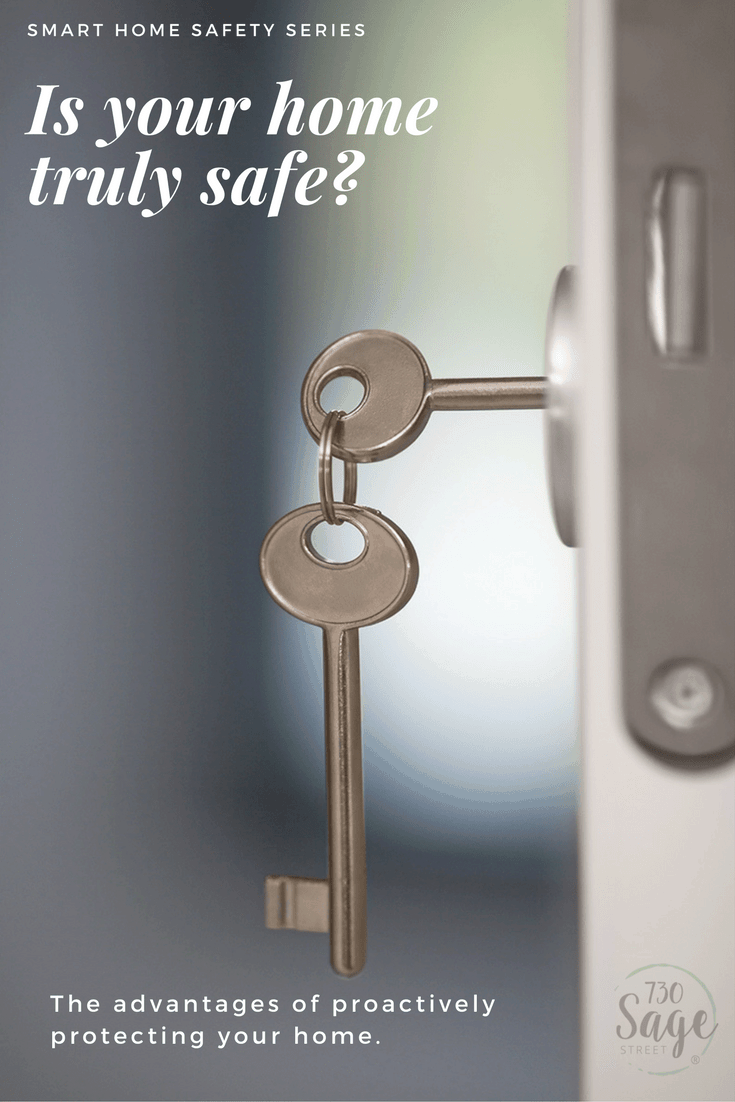 Smart home safety series: Is your home truly safe? The Advantages of Proactively Protecting Your Home with a smart home security system.