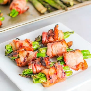 Bacon Wrapped Asparagus – Low Carb Grilled and Oven Directions