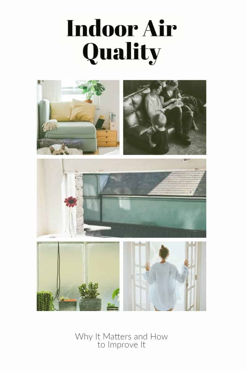 Indoor Air Quality - Why It Matters and How to Improve It photo collage