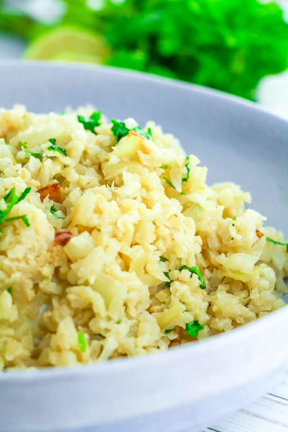 You almost can't tell it's Cauliflower Rice!