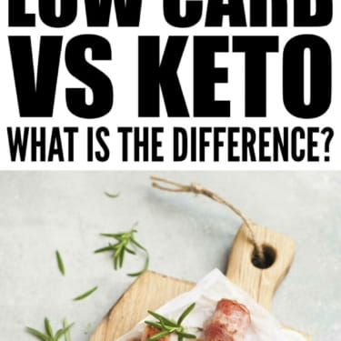 Low Carb vs Keto – What's The Difference?