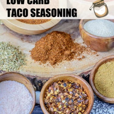 Taco Seasoning Recipe for Low Carb, Keto or any Mexican Recipe
